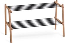 Twist skohylla Oljad ek 75 x 35 cm