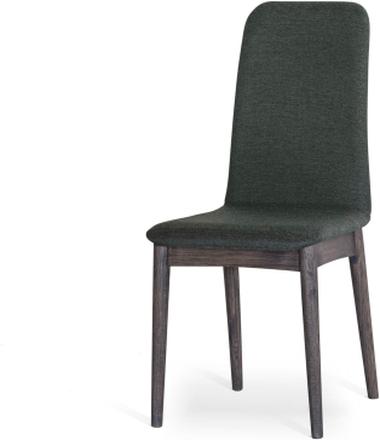 Hampton matstol Grön brunbetsad ek