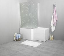 Noro Grand hörnbadkar, 157,5x83/70x63-65 cm, höger