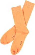 Herrstrumpor PLAIN- orange2