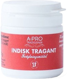 Indisk tragant, pulver