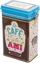 Plåtburk Kaffeburk 'Le Café'