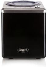 BORETTI B100 Automatisk glassmaskin 2 L - 180 W - Med kompressor - Temperaturer -18 ° C till -35 ° C - Svart