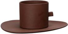 By On Tekopp / Kaffekopp med fat Clay