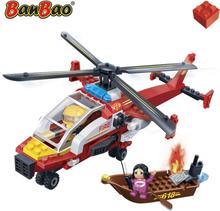 BanBao Brandkårens helikopter 7107