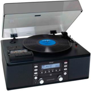 Stereoanlæg USB Sort LP-R550USB-B