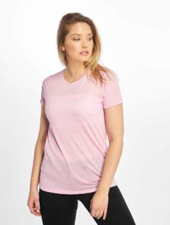 New Look Kvinder T-shirts Leopard Burnout i rosa, 34