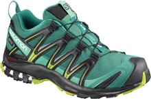 Salomon Shoes Xa Pro 3D Gtx® W Deep Lake/Black/Lime Green