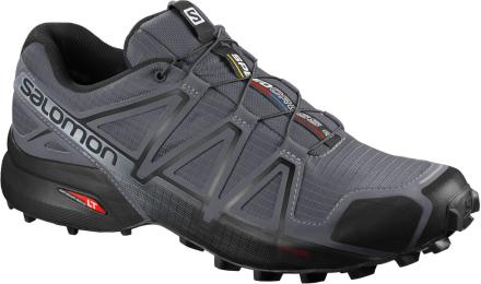 Salomon Shoes Speedcross 4 Wide Dark Cloud/Black/Pearl Gray