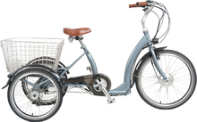 Elektrisk sykkel med 3 hjul - lavt innsteg