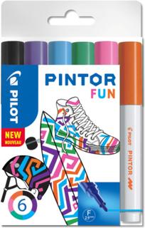 Fiberpennset Pilot Pintor (Fun Mix) - Fine