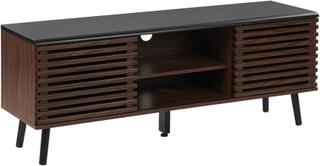 TV-bord Mørkt træ PERTH