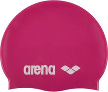arena Classic Silicone Cap fuchsia-white 2020 Badehetter