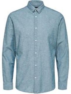 SELECTED Slim Fit - Skjorte Mænd Blå