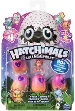 Hatchimals Colleggtibles Serie 4 - 4 pakning + bonus