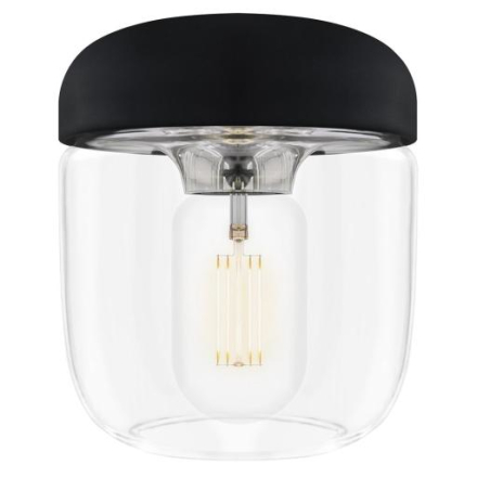 UMAGE Acorn Lampeskjerm, Sort/polert stål