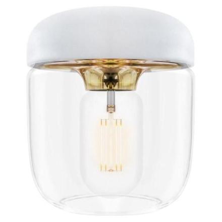 UMAGE Acorn Lampeskjerm, Hvit/polert messing