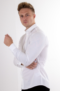 Muscle Skjorte - Hvid
