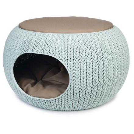Curver kæledyrshule Cozy 55x35 cm lyseblå 700505