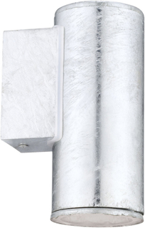 EGLO Utomhusvägglampa Riga 4 3 W 15 cm silver 30908
