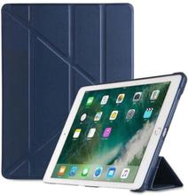 INF iPad-deksel 9,7 tommers smart dekselveske og stativ - mørk blå