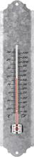 Esschert Design vægtermometer genbrugs-zink 40 cm OZ10
