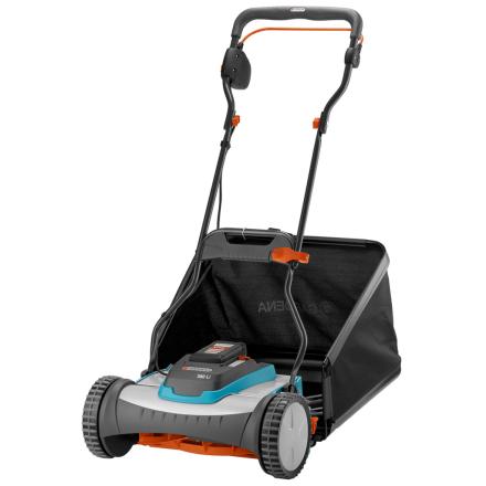 GARDENA ledningsfri elektrisk rulleklipper græsslåmaskine 380 Li 400 m² 4025-20