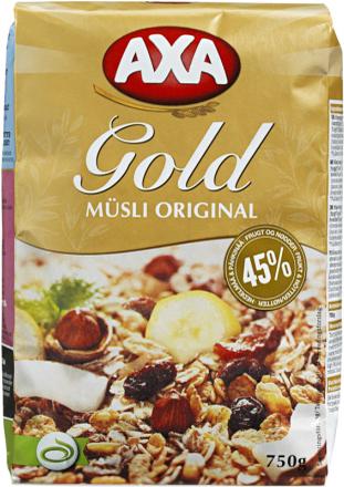 Müsli Gold Original - 33% rabatt
