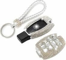 Tech of sweden Mercedes-Benz Nyckelring Nyckelskal Diamant Handtillverkat