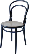 TON Chair 14 tuoli, rottinki - musta