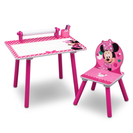 Minni Mus Tegnebord, Minnie Mouse - Disney Minnie Mouse Barnemøbler 58722