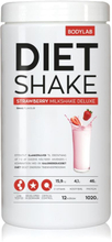 Bodylab Diet Shake (1000 g) - Strawberry Milkshake