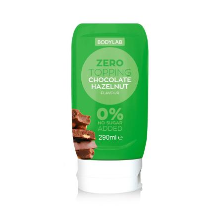 Bodylab Zero Topping (290 ml) - Chocolate Hazelnut
