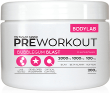 Bodylab Pre Workout (200 g) - Bubblegum Blast