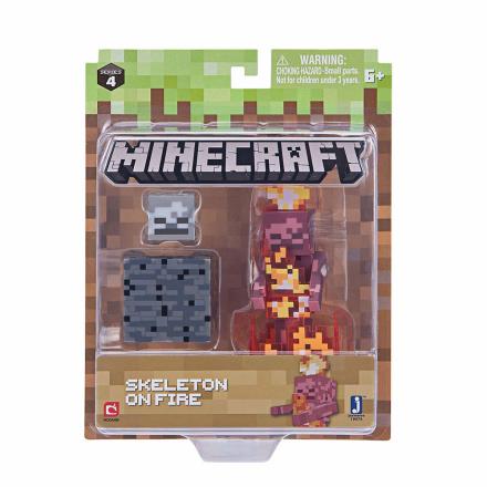 Minecraft Skeleton On Fire - CDON.COM