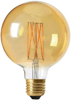 PR Home Elect LED Ljuskälla 3-Step Dimmer Globe Guld 9,5 cm