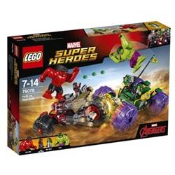 LEGO Super Heroes Hulk mod Red Hulk 76078 - wupti.com