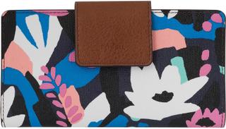 Fossil FOSSILA damer plånbok med RFID-chip skydd svart/blommig 7113