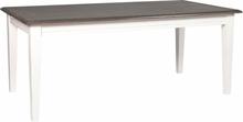 Greve matbord 190 cm - Grå/Vit