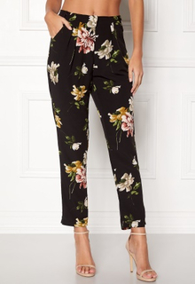 Rut & Circle Elsa Flower Pants Black Combo S