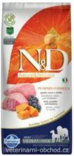 N & D Grain Free Hund Adult Medium / Maxi Kurbis Lamm & Blaubeere Trockenfutter fur Hunde 12kg