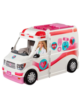 Barbie Ambulance 2-in-1