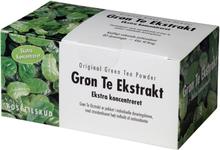Grøn Te Ekstrakt - Ekstra Koncentreret 40br.