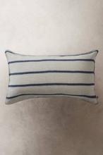 KARLA kuddfodral 90x50 cm Linnebeige/blå