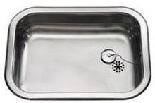 Intra Barents BA480 Kjøkkenvask 54x40 cm, m/propp og kjetting, Rustfritt stål
