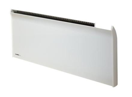 Glamox TPA El-radiator uten termostat 1200W/230V, Hvit - 12 m²