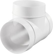 T-stykke til Ø100 mm ventilasjonsrør