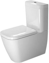 Duravit Happy D.2 toalett m/sisterne & P-lås, hvit