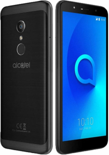 Alcatel 1C (2019) Volcano Black Mobiltelefon