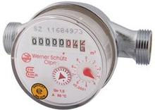 """Varmvattenmätare QN 1,5 - 110 mm x 1/2"""" universal"""